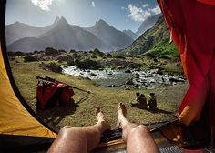 Morning Views from the Tent: A POV Landscape Photo Series That'll Exacerbate Your Wanderlust