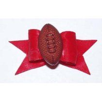 Red Dog Show Bow Football Barrette Dog Hair Bows, Dog Bows, Super Cute Dogs, Dog Itching, Dog Training Pads, Dog Food Storage, Dog Shower, Thing 1, Red Dog