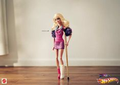 hot wheels barbie publicite #adv #ads #publicidade #marketing