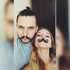 👬💏 #boy #boyfriend #couple #polishgirl #moustaches #lovely #wearecoollikethat