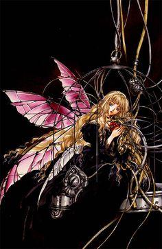 I believe its an art piece by Kaori Yuki.