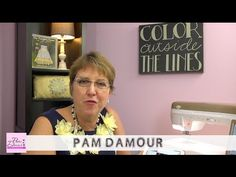 This video is so cool! Watch Pam Damour as she shows you the easiest, quickest way to make a lot of continuous bias out of minimal fabric!