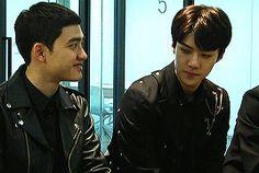 sehun can't take his eyes off his kyungsoo hyung (1/2)