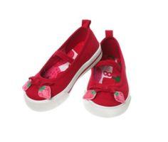 Strawberry shoes @ Crazy8
