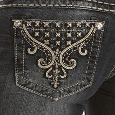 Miss Me Flourish Skinny Jeans - Jeans - Women's Western Clothing - Womens #PFIwesternOldGringo