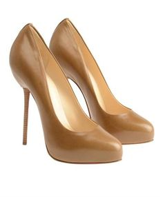 Gorgeous!! Tan heels are great to have, but I'm sure you can find a better deal than paying $800 :0)