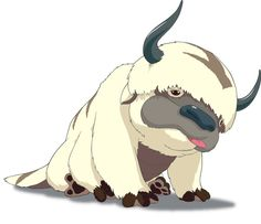Flying Bison are in my top 5 fictional animals I wish existed. Plus, Appa's just awesome.