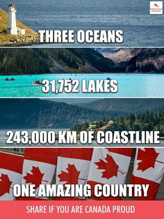 Canada - One Amazing Country - Canadian Memes, Canadian Things, I Am Canadian, Canadian History, Canadian Humour, Canada Jokes, Canada Funny, Canada 150, Cool Countries