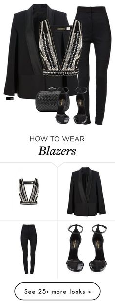"""Untitled #1453"" by chloeoliver-pitelka on Polyvore featuring Dolce&Gabbana, Victoria Beckham, sass & bide, Bottega Veneta and Yves Saint Laurent:"