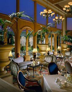 Mary Cassett Tearoom | The Rittenhouse Hotel | Philadelphia