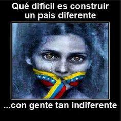 @copipega Para lograr la LIBERTAD debemos dejar la INDIFERENCIA y luchar en contra de las garras de la Dictadura!