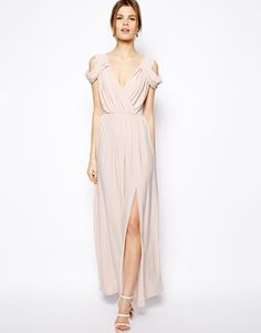 ASOS Wrap Front Maxi Dress. I need somewhere to go so I have an excuse to buy and wear this dress.