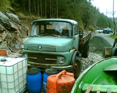 mercedes benz truck in norway