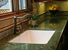Green Peace Granite Countertops from Fox Granite