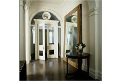 Hall with mirror