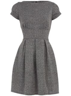 "Love this warm winter dress. So ""me""."