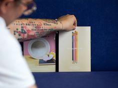 Mini Magazin für in Klunkar she trusts - Simone Angerer Grafikdesign Trust, Niklas, Statements, Grafik Design, Paper Goods, Creative, Mini, Harry Potter Books