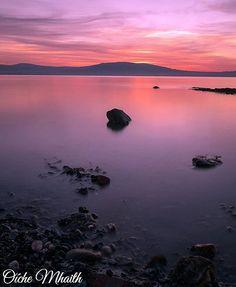 Good Night From Ireland  This dream-like sunset was taken at Holywood sea park in Northern Ireland by @hunterhorizons
