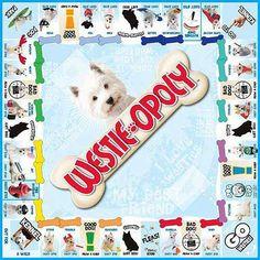 Westie-opoly Board Game