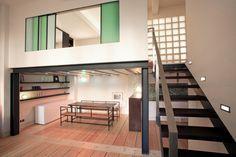 Réhabilitation d'un local industriel en loft (2006) - T design architecture