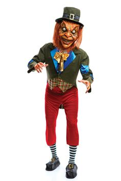 Awesome for a child to wear!  | Scary Leprechaun Costume - Leprechaun The Movie - Party Supplies