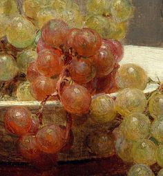 Henri Fantin-Latour 'Asters and Fruit on a Table' (detail) 1868 Painting Still Life, Paintings I Love, Beautiful Paintings, Henri Fantin Latour, Gcse Art, Artist Art, Impressionism, A Table, Oil On Canvas