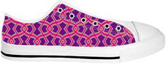Diamond Shapes on Purple Shoes by Terrella