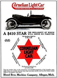 La marque automobile Américaine de voitures Cornelian fut fondée en 1914, la marque s'éteignit en 19??.