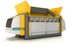 The new clever waste shredder from UNTHA for RDF / SRF production