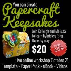 Learn how to create hybrid crafts - Save on earlybird registration only