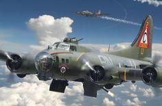 B-17G Flying Fortress 'Thunder Bird'