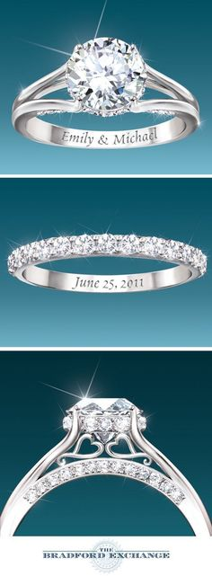 engagement rings and wedding rings / http://www.himisspuff.com/engagement-rings-wedding-rings/16/