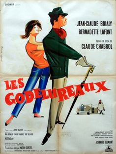 Les Godelureaux (Wise Guys), 1961 - original vintage poster listed on AntikBar.co.uk