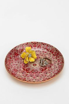Magical Thinking Floral Medallion Catch-All Dish URBAN OUTFITTERS ONLINE ONLY $6
