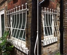 Our security window bars fitted to a domestic property in West Hampstead, NW London.