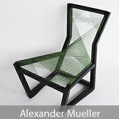 Alexander Mueller - Woven Easy Chair
