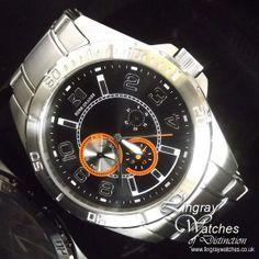 BOSS Hugo Boss Stainless Steel Designer Watch - 1512836   Online price: £175.00  www.lingraywatches.co.uk