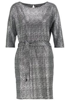 MIRIAM - Cocktailkjole - black/silver Dresses For Work, Dresses With Sleeves, Black Silver, Luxury, Long Sleeve, Cocktail, Fashion, Moda, Sleeve Dresses