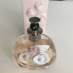 Valentina perfume and lotion 2.7 oz perfume that is barely used as seen in picture. 6.8 oz lotion that has never been used. Comes in original box Valentino Makeup