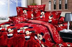 red-mickey-and-minnie-bedding.jpg (600×399)