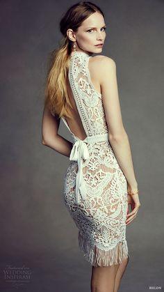 Short and Tea Length Wedding Dresses : BHLDN Bohemian Beauty Bridal Lookbook | Wedding Inspirasi