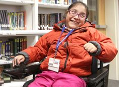 Student receives new wheelchair from school district staffers