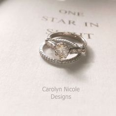 LOVE it!  Custom Made Antique Diamond And Pearl Engagement Ring
