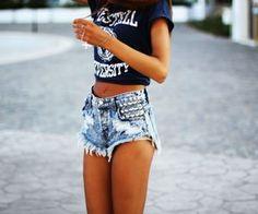 those shorts!