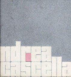 CASCELLA Andrea, Andrea Cascella. New York, Betty Parsons Gallery, 1968.