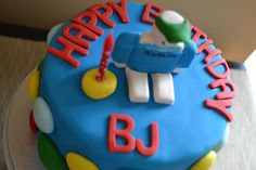 life's sweet: Roblox Birthday Cake - CEM's 12th birthday - blue and/or green