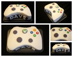 Perfect cake for Logan's birthday!  The Createry Shop: Make an Xbox 360 Controller Cake