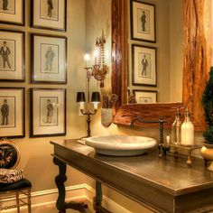 Powder Room Vanity Small Design Ideas, Pictures, Remodel and Decor