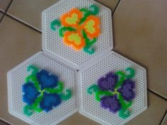 Flowers perler beads by Angie W.- -Perler® | Gallery