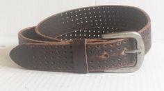 Bill Adler Men Brown #leather belt size 40 NWT visit our ebay store at  http://stores.ebay.com/esquirestore